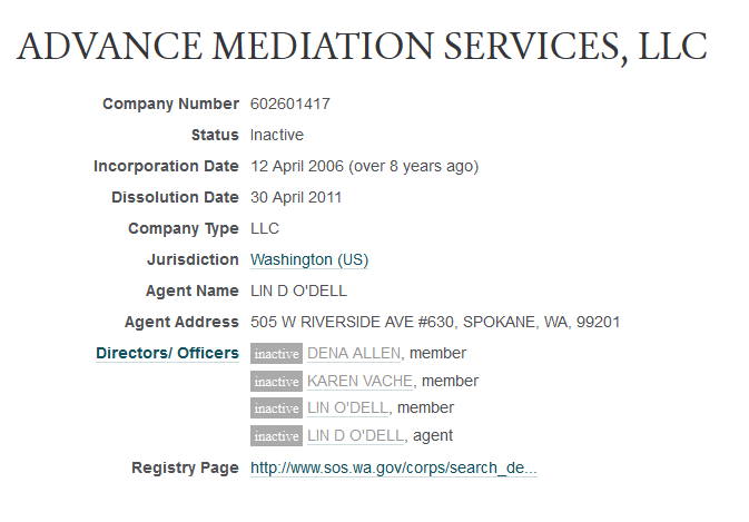 ADVANCE MEDIATION SERVICES, LLC -- OpenCorporates 2014-11-17 22-37-19