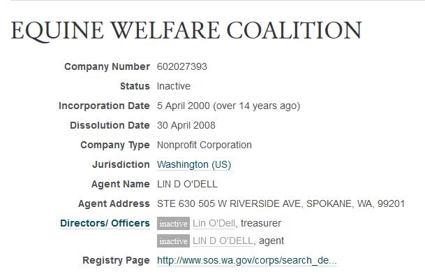 EQUINE WELFARE COALITION -- OpenCorporates 2014-11-17 22-36-20