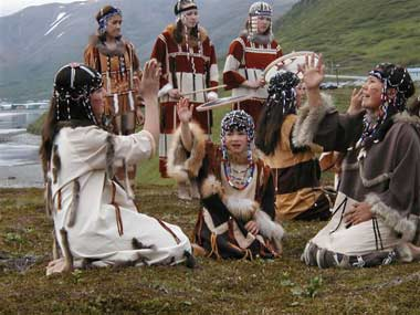 Alaskan-Aleut-Dancers